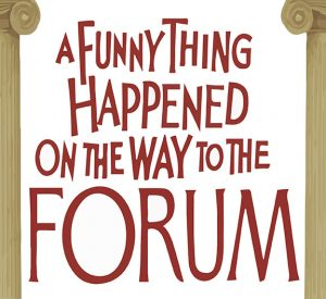 A Funny Thing Happened on the Way to the Forum Logo